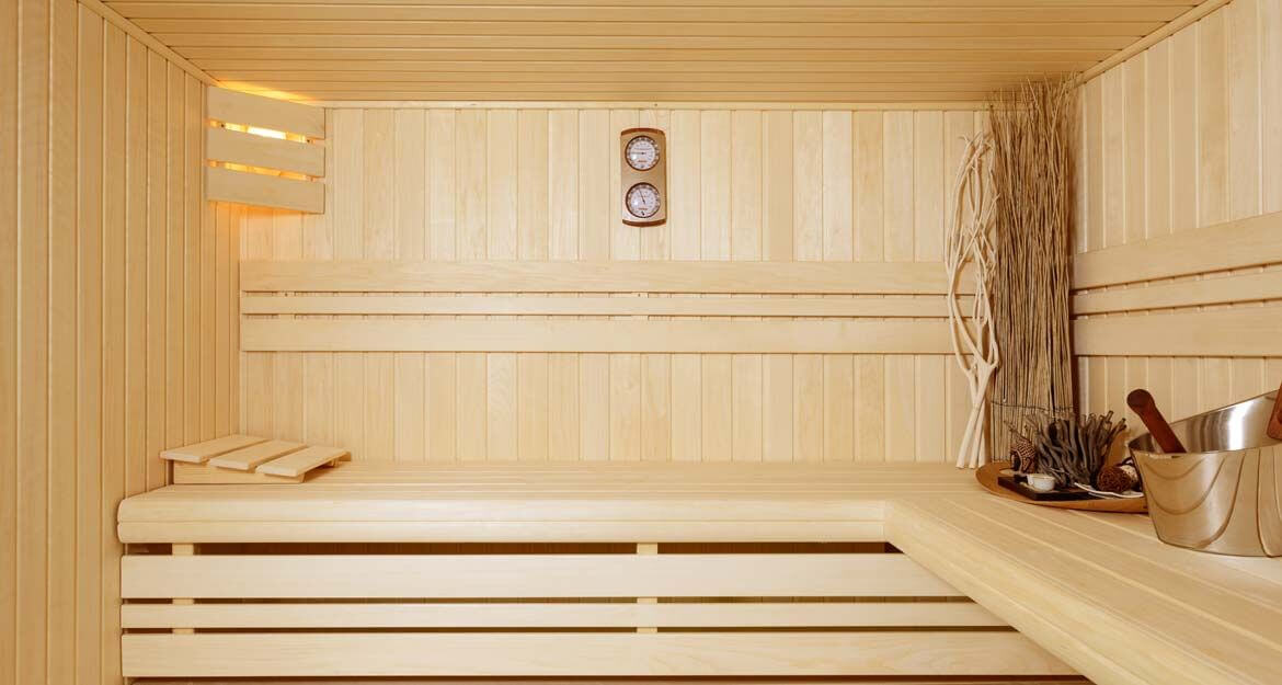 Sauna Lambris Design - Clair Azur